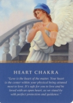 heart chakra - Doreen Virtue cards
