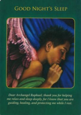 Archangel Raphael orakel kaarten Doreen Virtue
